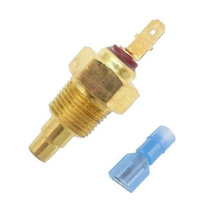 """200 Degree Electric Cooling Fan Thermostat Temperature Sensor Switch 3/8"""" Thread"""