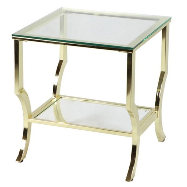 Amy Glass End Table