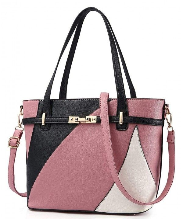 Handbags for Women Shoulder Tote Bags Satchel Purse Top Handle Designer  Leather Ladies Cossbody Bag - Pink - C218HG06HCK | Shoulder bag fashion,  Womens crossbody bag, Casual tote bag