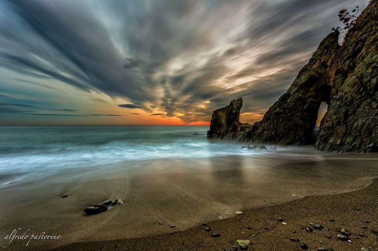 sunset arenzano