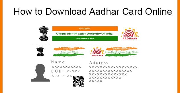 Aadhar Card Download How To Download E Aadhar Aadhar Card Card Downloads Cards