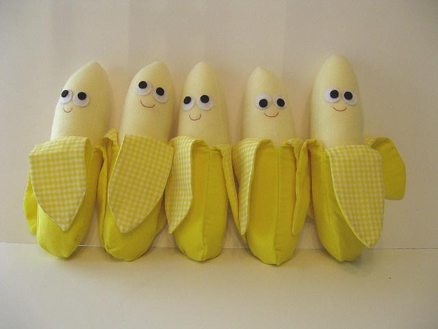 This fun fruit comes in five: Fun Fruit, Bananas, Healthy Eating