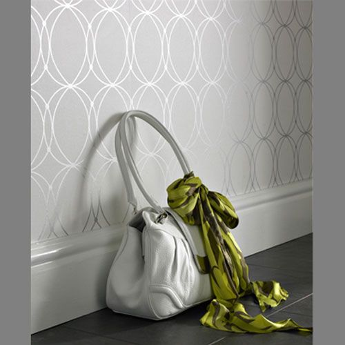 I love this wallpaper! Would look great on an accent wall in my dining room.