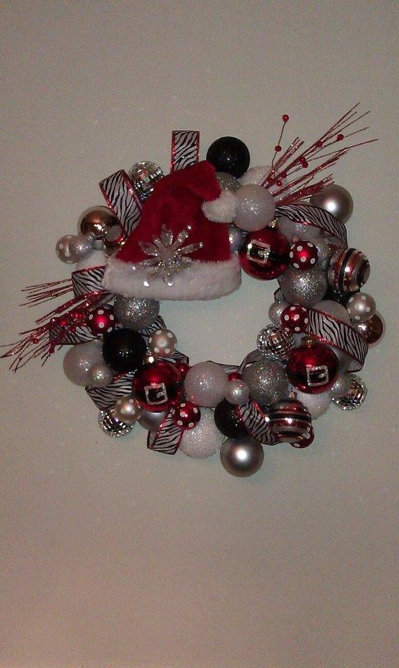 My Christmas WreathChristmas Wreaths, Holiday, Christmas Time, Crafts Ideas, Christmas Crafts, Fun, Christmas Decor, Christmas Ornaments, Christmas Ideas