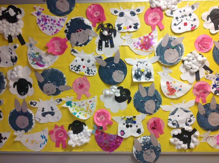 17 best preschool farm images on pinterest farm animals for Farm animal crafts for preschool