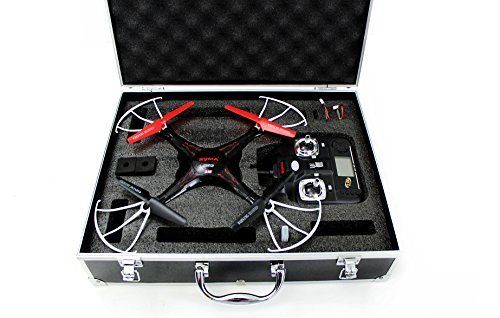 Special Offers - Syma X5C Quadcopter Drone Bundle with Carrying Case and Extra Batteries (Black) - In stock & Free Shipping. You can save more money! Check It (May 23 2016 at 08:46AM) >> http://kidsscooterusa.net/syma-x5c-quadcopter-dronebundle-with-carrying-case-and-extra-batteries-black/