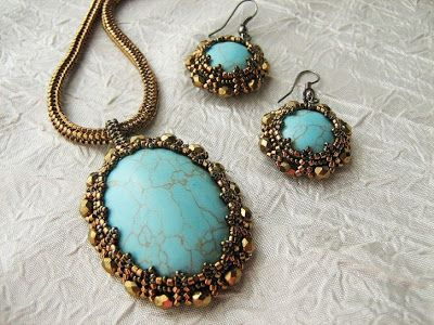 "Free instructions--Beads Fantasy: Master Class. Set ""Vintage."""