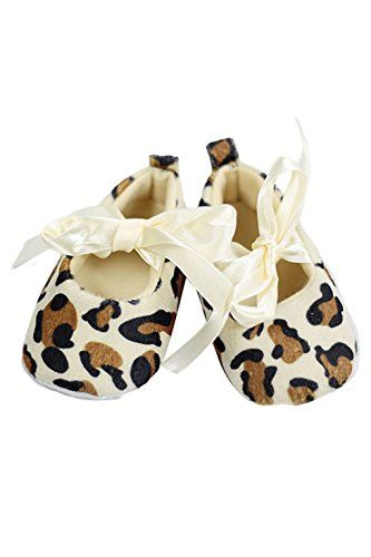 ebefad15c61d1 Chaussures de marche - TOOGOO(R) Bebe filles tout-petit Leopard semelle  souple Chaussures de marche du nouveau-ne (0-6 mois)