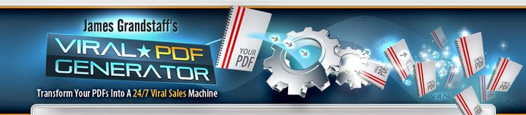 Viral PDF Generator | Transform Your PDFs Into A 24/7 Viral Sales Machine  www.digitalbookshops.com #Software  #Service  #DeveloperTool