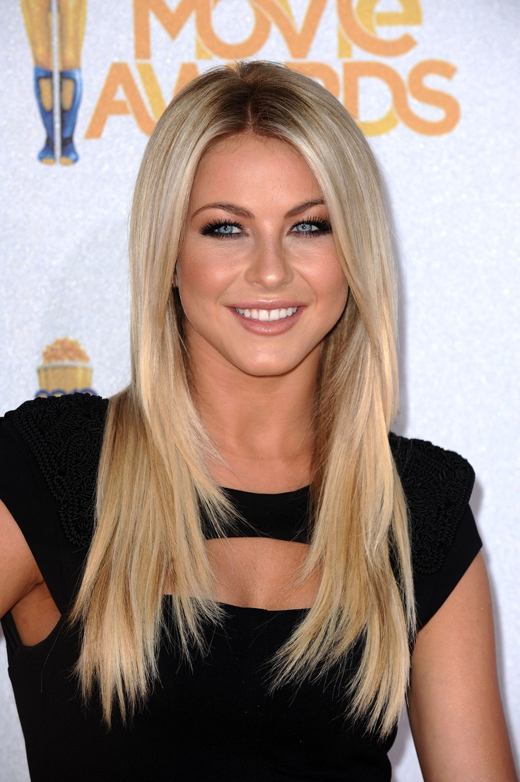 Julianne hough light blonde hair
