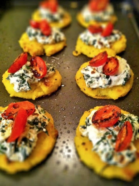 ... RECIPES on Pinterest | Polenta cakes, Sauces and Creamy spinach