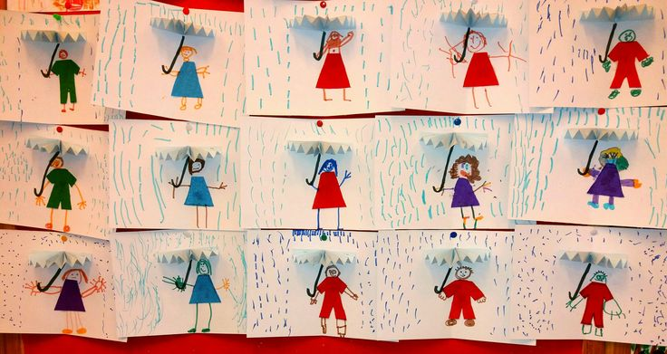 Kids card for a rainy day!