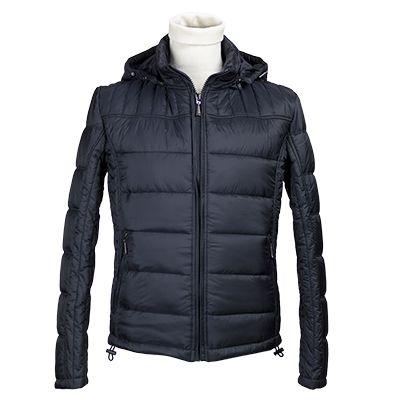 Giubbotto trapuntato con cappuccio - Blu - Invernale. € 81,60. #hallofbrands #hob #jackets #coats #giubbotti #giaccone #invernale #wintry #winter