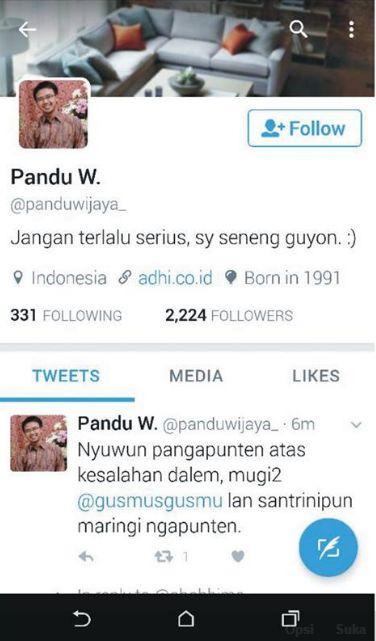 Pandu Wijaya vs Gus Mus , jadi rame...