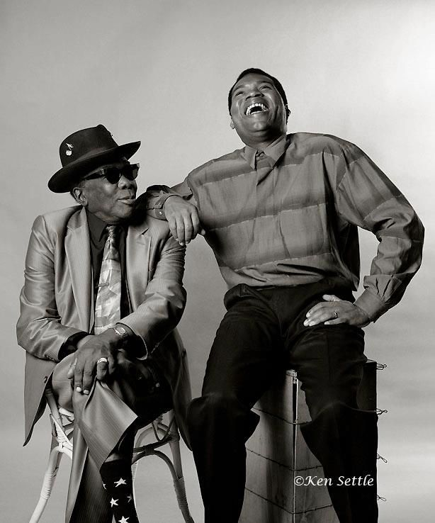 "John Lee Hooker and Robert Cray-one of my favourites Robert Cray songs Like ""Strong Persuader"" cool dude."