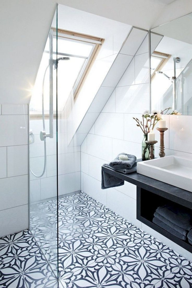 13 Ways To Achieve A Scandinavian Interior Style In 2020 Attic Shower Stylish Bathroom Affordable Bathroom Remodel