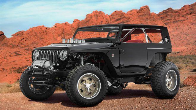 Jeep'in eski ve yeni modellerinden hayata geçirdiği ve bir gelenek haline getirdiği konsept projesi her yıl olduğu gibi bu yıl da oldukça birbirinden özel tasarımları karşımıza çıkartıyor. Land Rover ile birlikte off-road tutkunlarının aklına ilk gelen markaların başında gelen Jeep, geleneğini...   http://havari.co/jeepten-efsaneleri-selamlayan-birbirinden-etkileyici-konsept-tasarimlar-video/
