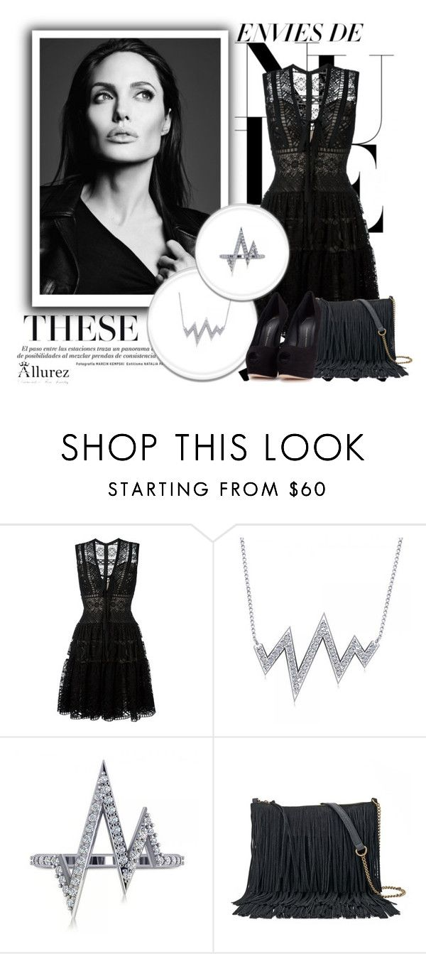 """1. Allurez"" by maya-devojka ❤ liked on Polyvore featuring Elie Saab, Allurez, SONOMA Goods for Life and Giuseppe Zanotti"