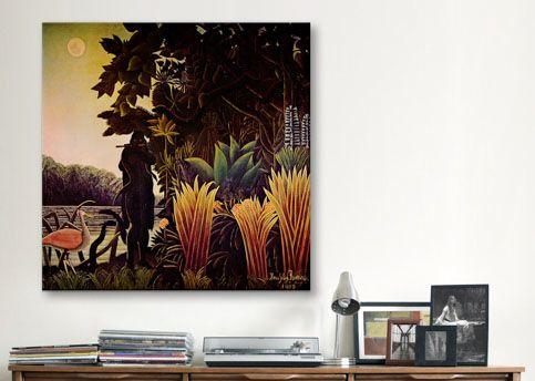Rousseau The Snake Charmer Canvas Art Print - iCanvasART.com