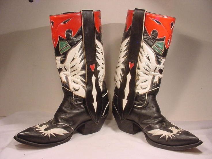 1000  images about Vintage Cowboy Boots on Pinterest   Double d ...