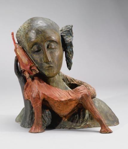 Mimmo Paladino, Untitled (Red Dog), 1983