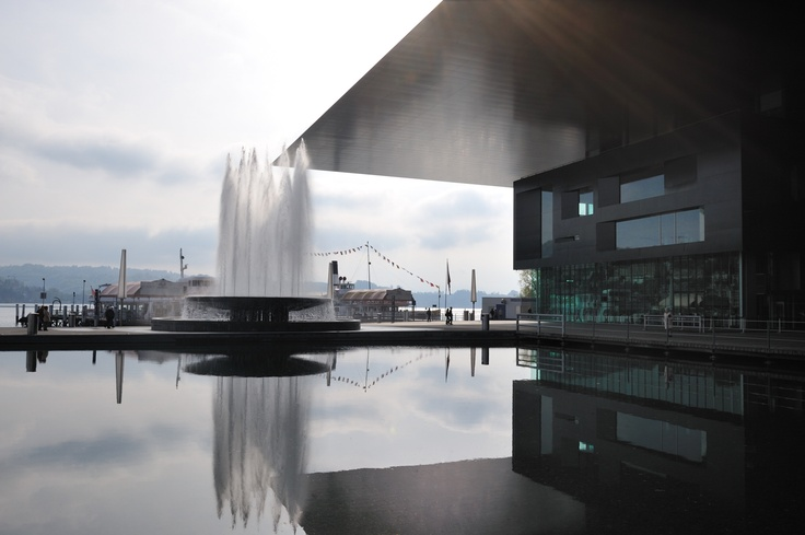 KKL Luzern - stunning concert hall in the most beautiful location