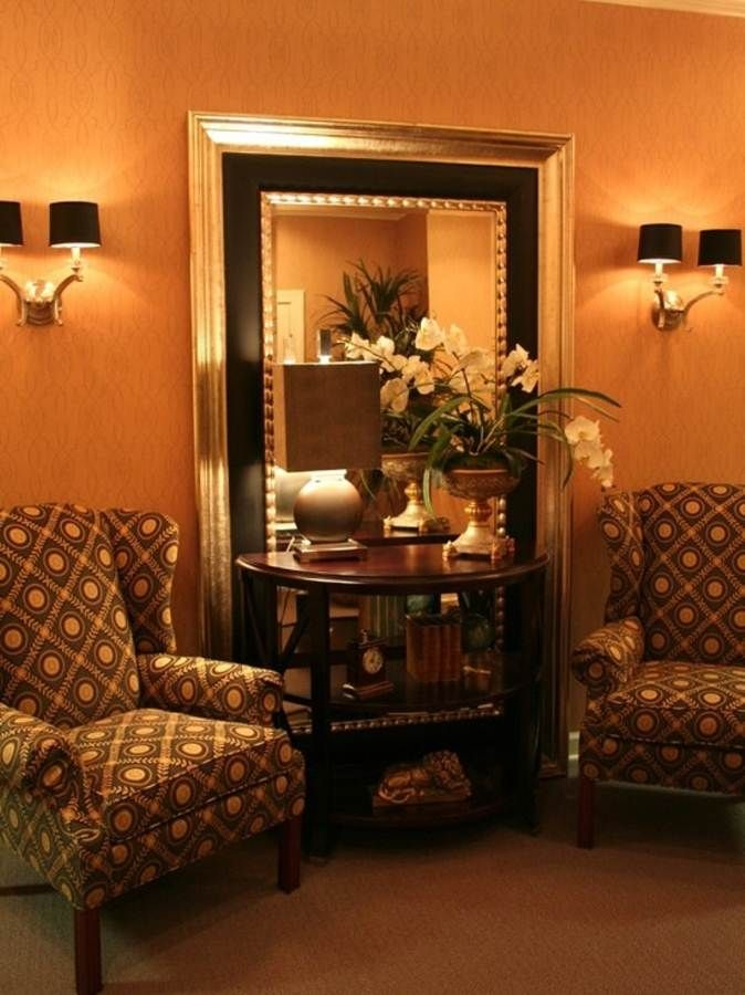 Large Gold Wall Mirror large mirrors ideas
