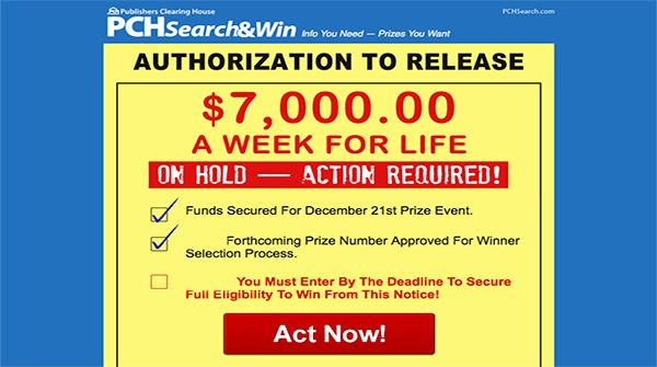 www pch com/actnow - PCH Activation Code Input Form