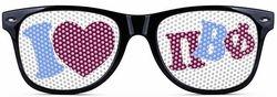 Pi Beta Phi Wayfarer Style Lens Sunglasses SALE $12.95. - Greek Clothing and Merchandise - Greek Gear®