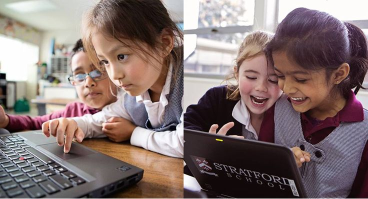 Stratford School Altadena Preschoolers and Sunnyvale 8th Graders Collaborate Across the Miles in a Virtual Classroom