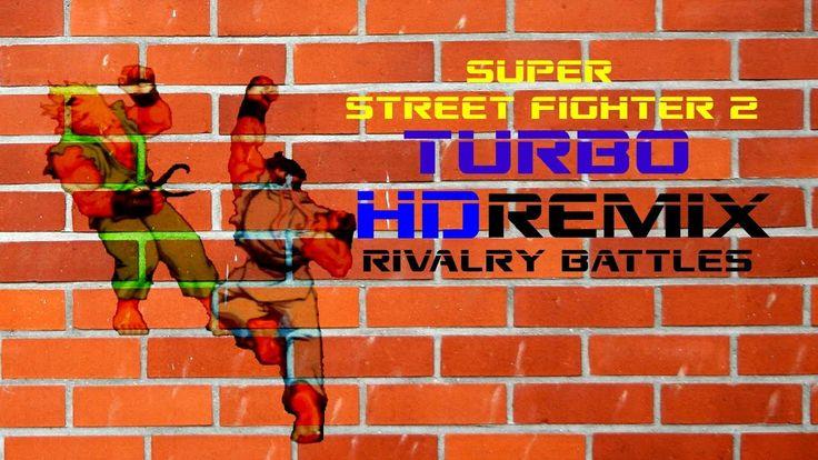 Super Street Fighter 2:Turbo HD Remix Rivalry Battles