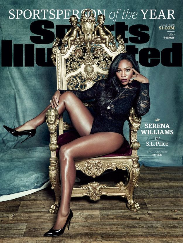 So, Sports Illustrated just named Serena Williams its Sportsperson of the Year.   Serena Williams Takes The Throne As Sportsperson Of The Year