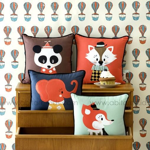 Mr FRANK FOX by Ferm Living coussin (3)