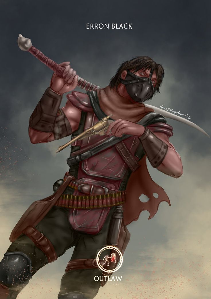 Mortal Kombat X-Erron Black-Outlaw Variation by Grapiqkad.deviantart.com on @DeviantArt