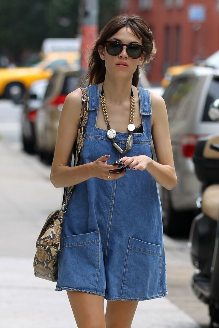 Alexa Chung walks to lunch in Soho - July 15, 2012