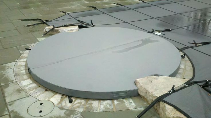 Rayner Gray Spa Cover Rayner Safety Pool Covers