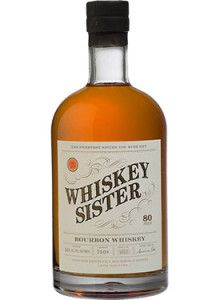 Whiskey Sister Bourbon #Whiskey.  Matured in American oak casks, this #bourbon earned the Silver Medal at the San Francisco World Spirits Competition in 2014. | @Caskers