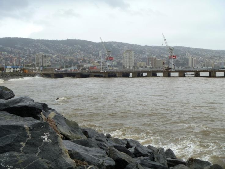 Paseo Muelle Barón. Valparaíso. Foto de Andy Manson.
