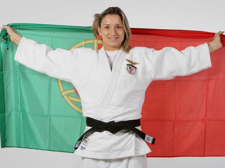 Judo: Telma Monteiro renovou contrato, por 5 anos.