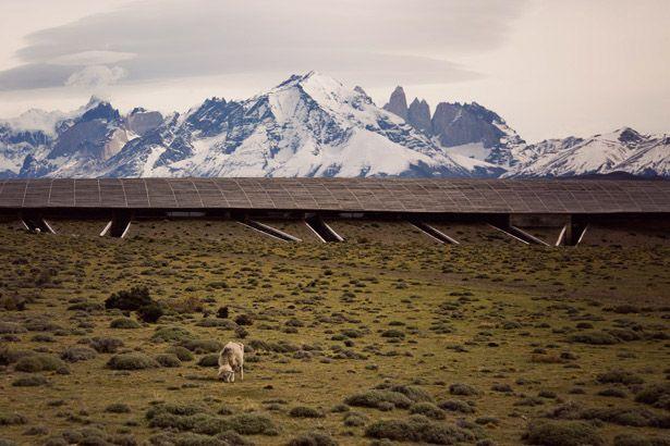Tierra Patagonia Hotel - Magical facade