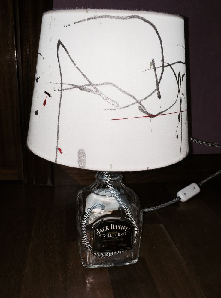 #jackdaniels #single #bottlelamp