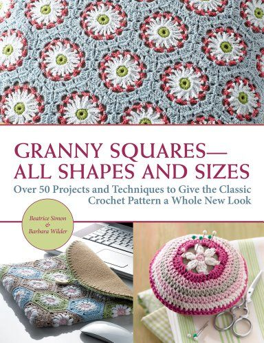 Book Cover Crochet Granny : Best images about crochet books granny squares on