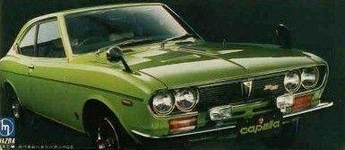 1971 Mazda Capella  Rotary G-series