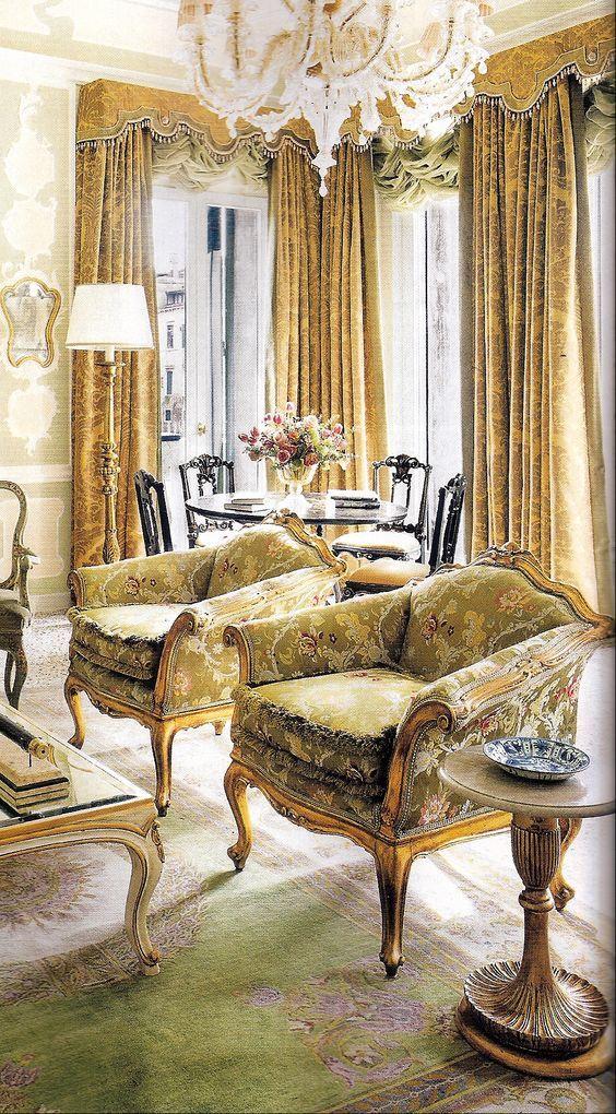 605 Best Images About Elegant Living Rooms On Pinterest