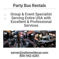 Infographic: Party Bus Rentals