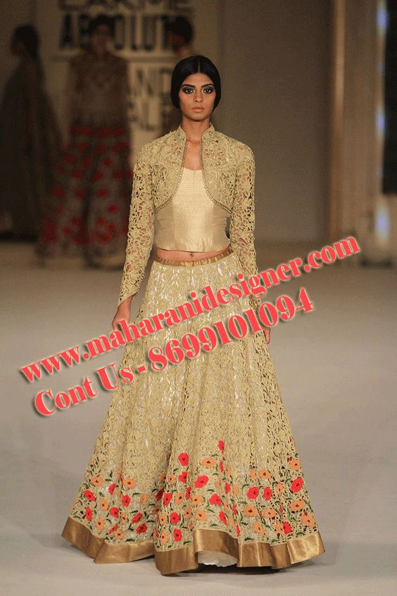 #DesignerLehengaonline #DesignerLehengaOnlineShopping #PartyWearlehengaOnline #BeautifulLehengashopping Maharani Designer Boutique  To buy it click on this link  http://maharanidesigner.com/Anarkali-Dresses-Online/salwar-suits-online/ Rs - 16900 Fabric - Printed net lehenga and jacket Machine work  Available in all Colors  Fine Quality fabric  For any more information contact on WhatsApp or call 8699101094 Website www.maharanidesigner.com
