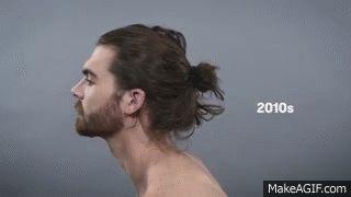 100 años de belleza masculina en 90 segundos (VÍDEO)