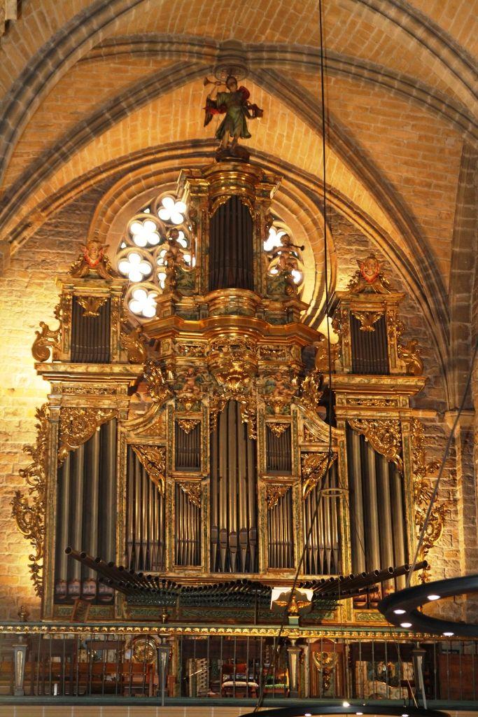 Iglesia De San Nicolas Pamplona 1769 Organos Espanoles Spanish