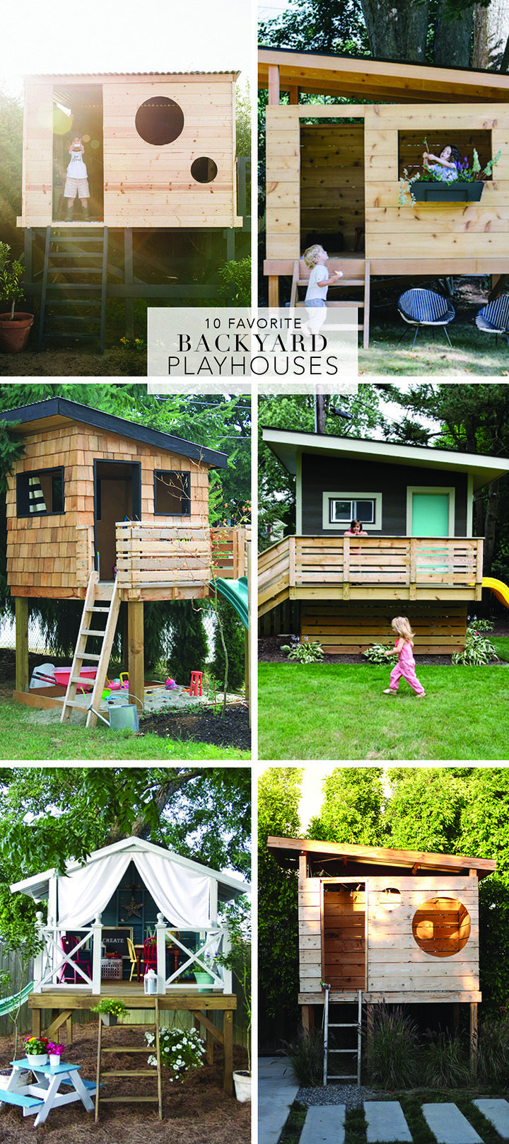 10 Favorite Backyard Playhouses