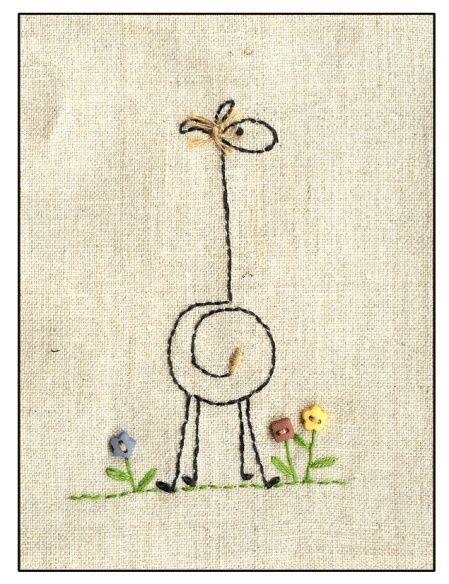 Einfache Giraffe